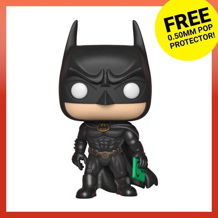 FUNKO Pop Heroes DC 289 Batman Forever Vinyl Figure Batman 80TH