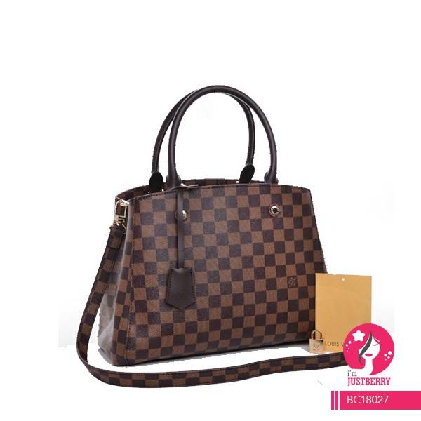 Superb Louis Vuitton Alma Damier Ebene Hand Bag  54bae9f8a23ee