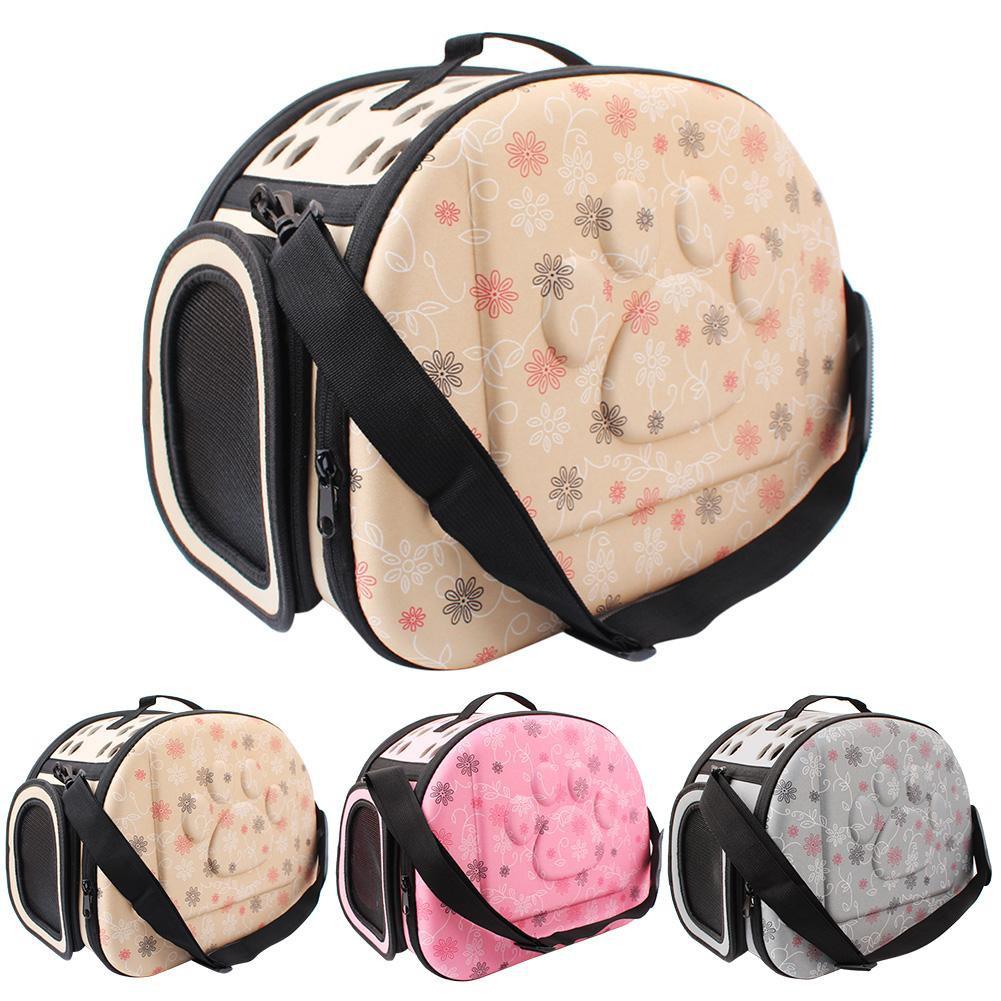 ba4c9fbc76d3 1PC Foldable Pet Carrier Outdoor Travel Shoulder Bag for Small Dog Cat Puppy