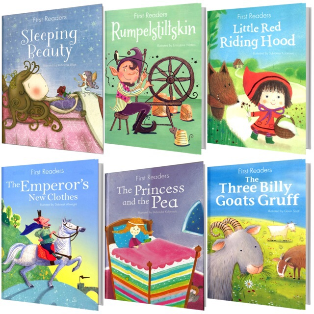First Readers Story Books Hard Cover