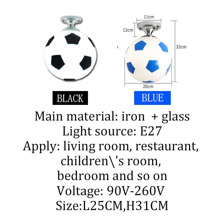 Kids Room Lighting Ceiling Lamp Children Ceiling Lights Led Lights Soccer Light High Quality Shopee Philippines