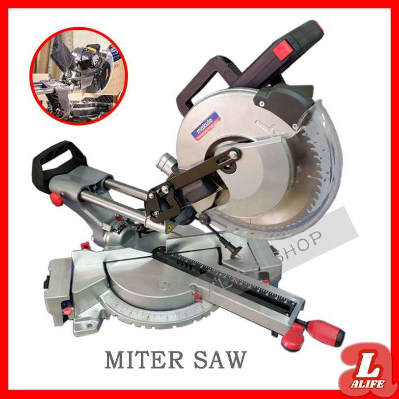 Makute Sliding Compound Miter Saw 1800w 10 Inch Shopee Philippines