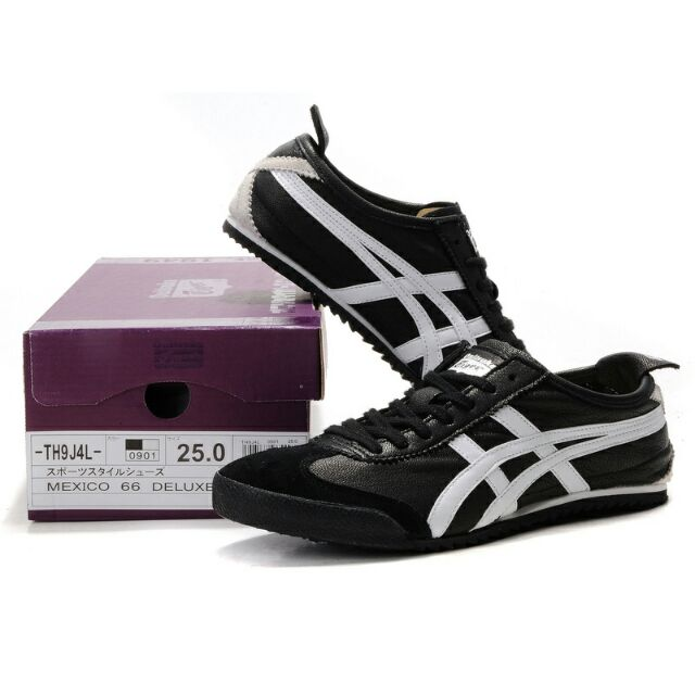 differently b91c5 efc03 Onitsuka Tiger Deluxe Black/ White