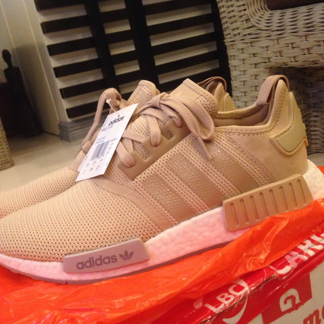 new arrival b6bfc 687fb NMD R1 (BROWN) SIZE 11