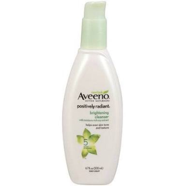 Aveeno facial wash