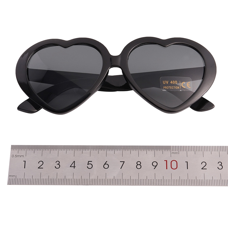Girls Children Kids Holiday Party Heart Shaped Love Sunglasses Eye Shades UV400