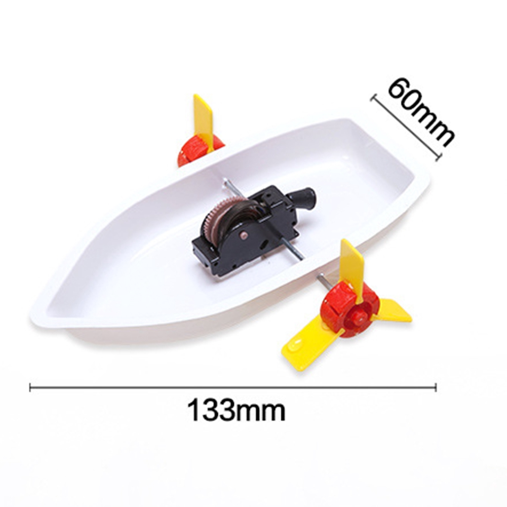 Assemble Toy Kids Gift Boat Science Construction Kit DIY