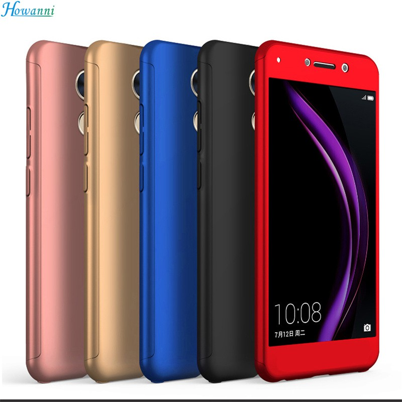 brand new 2b492 d4fe2 360 Degree Full Case For Huawei Y7 Prime Enjoy 7 Plus Cover