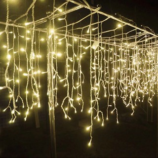 Christmas Lights.Mk 96l Led Icicle String Lights Waterproof Christmas Light