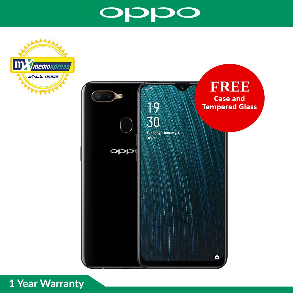 Oppo A5s 3GB RAM   32GB ROM with Free Case and Tempered Glass