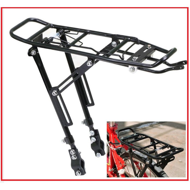Cycling Bike Titanium Rear Rack Carrier MTB Pannier Road Bike Luggage Carrier