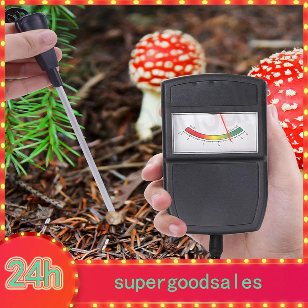DC 12V Soil Moisture Sensor Meter Soil Test Kit Humidity Monitor Detector Controller Measuring Auto Watering Gardening Tools for Home Farm Lawn