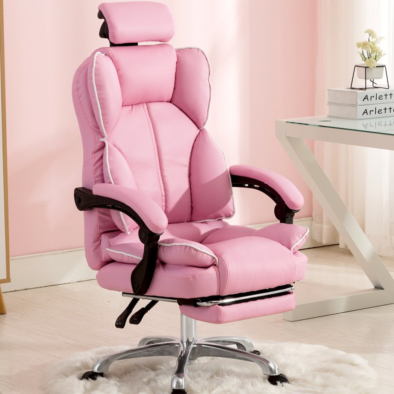 Pink Anchor Chair Gaming Chair Home Office Chair Shopee Philippines