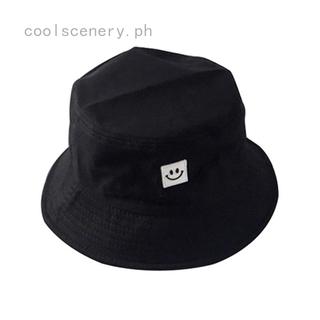 0635cd66d Panama Bucket Hat Smile Face Flat Sun Visor Fisherman Bob Hip Hop ...