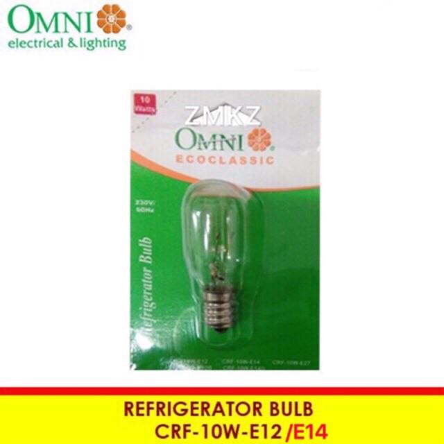 Omni Refrigerator Bulb Clear E12 E14 Shopee Philippines