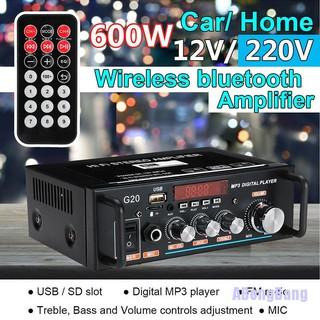 Gazechimp Mini Hi-Fi Audio Amplifier Amp For Mp3 Home Music