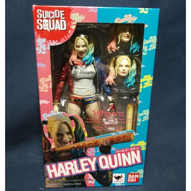 Anime-Figure Action Model Figure  S.H.Figuarts Suicide Squad Harley Quinn Figure