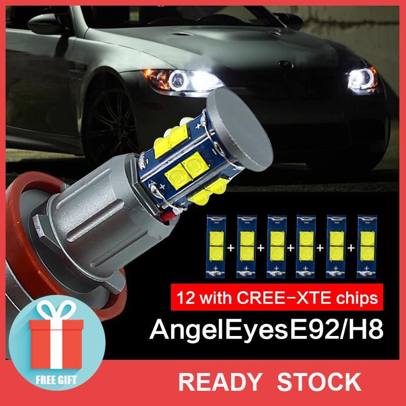 2x 120w Bmw Angel Eye For Bmw X5 E70 X6 E71 E90 E91 E92 M3 E89 E82 E87 Headlight