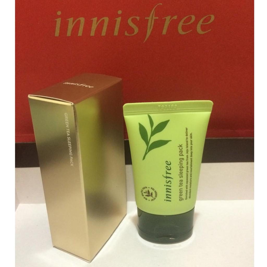 Innisfree Limited Edition Green Tea Sleeping Pack 30ml Shopee Philippines