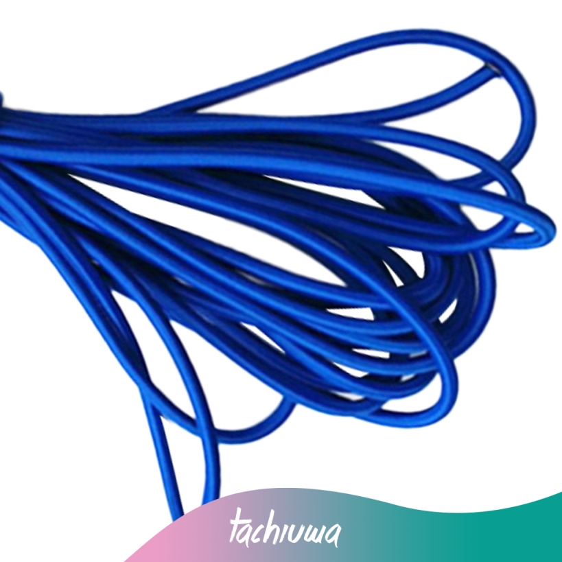 5mm x 10m Strong Elastic Rubber Bungee Rope Shock Cord Tie Down UV Stable