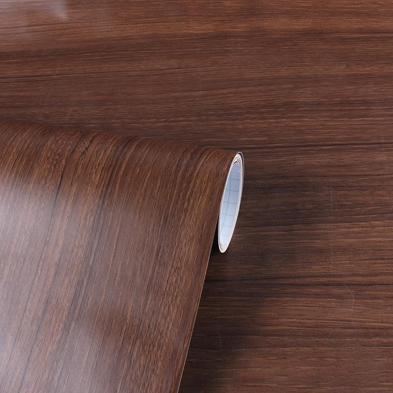3d Coffee Wood Wallpaper Table Door Cabinet Furniture Renovation Wood Sticker Waterproof Self Adhesive Wall Sticker Wood Sticker 007 Shopee Philippines