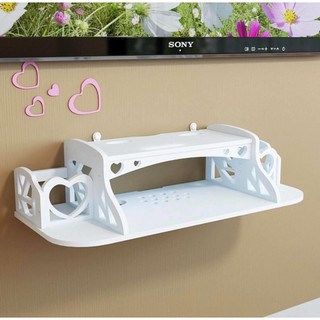 Tv Cabinet Wall Mount Floating Shelf Wifi Router Tv Box Set Top Box Floating Cable Box Wall Shelf Shopee Philippines