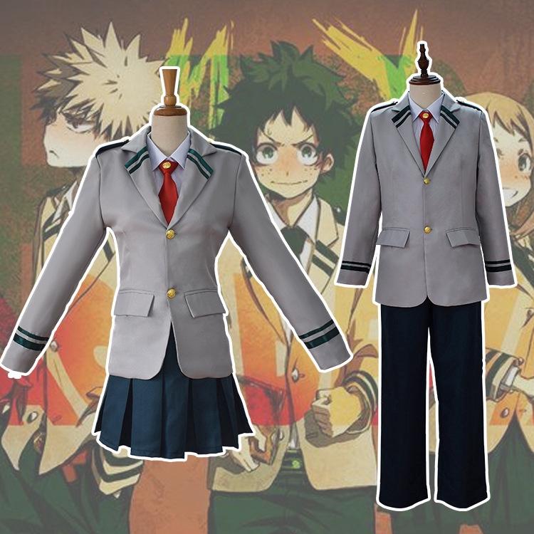 My Boku no Hero Academia Ochako Uraraka Cosplay Costume Uniforms School Suit