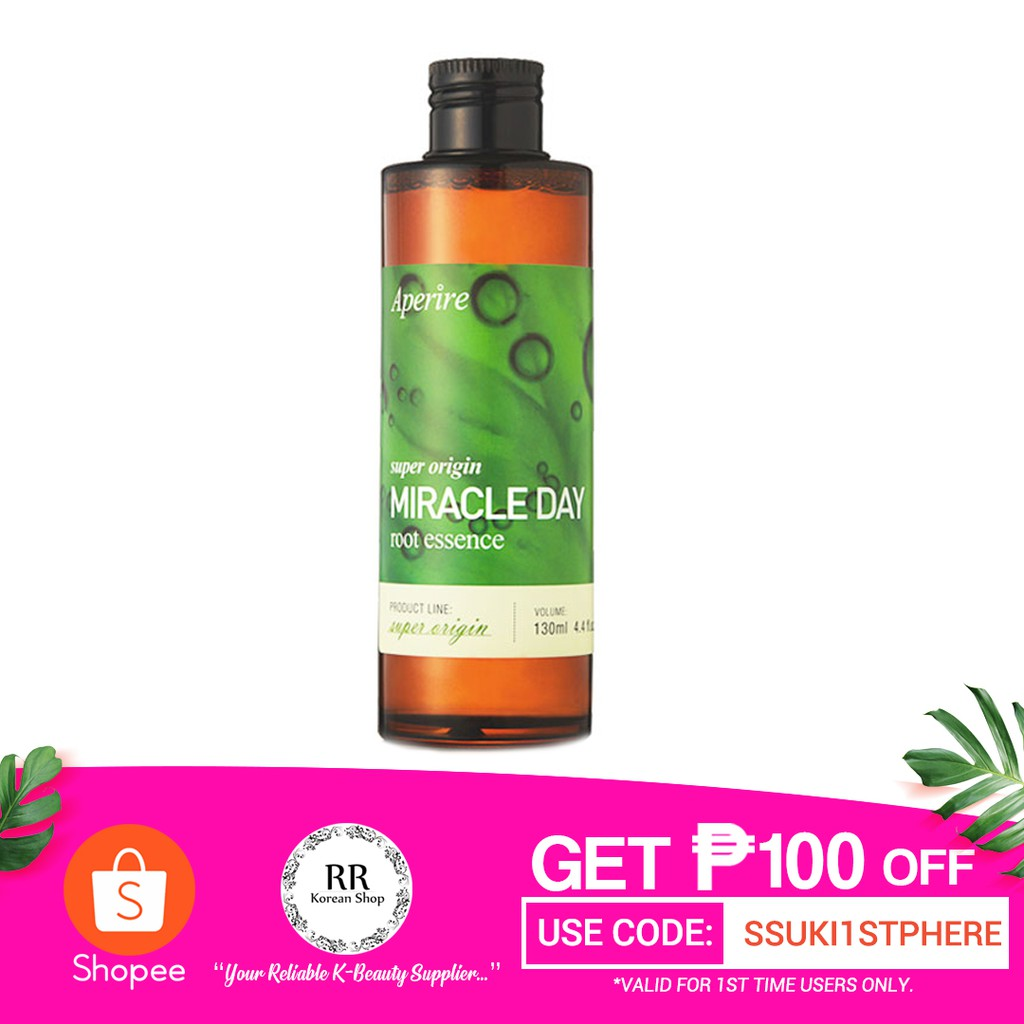 Aperire Super Origin Miracle Day Root Essence 130ml