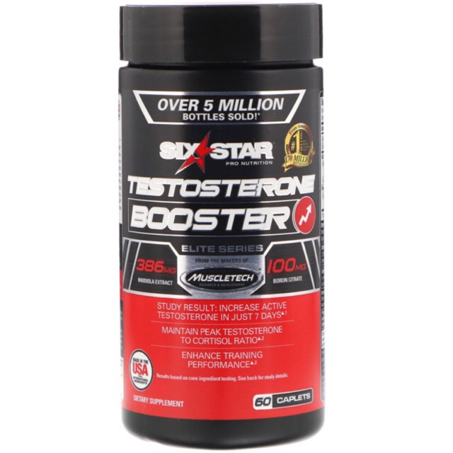 Six Star Testosterone Booster Supplement Extreme Strength | Shopee ...