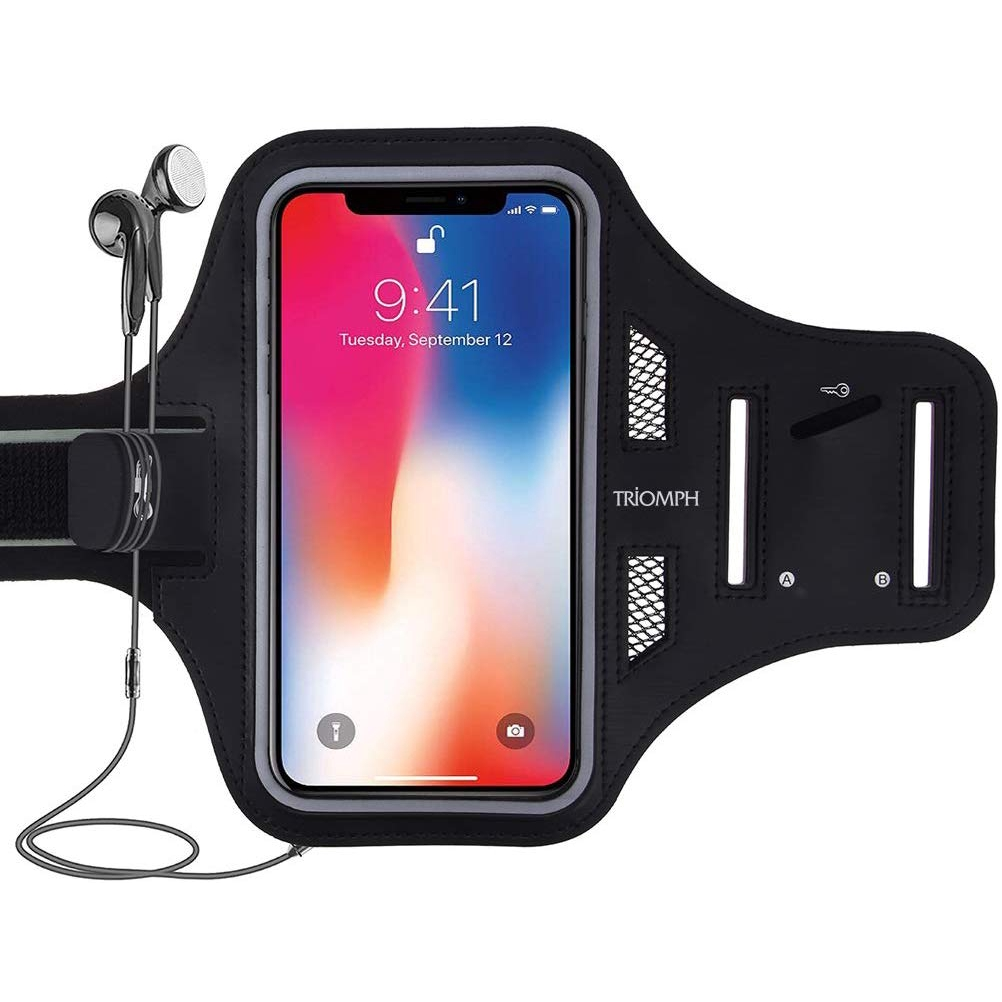 Water Resistant Phone Armband, Cell Phone Holder for ...