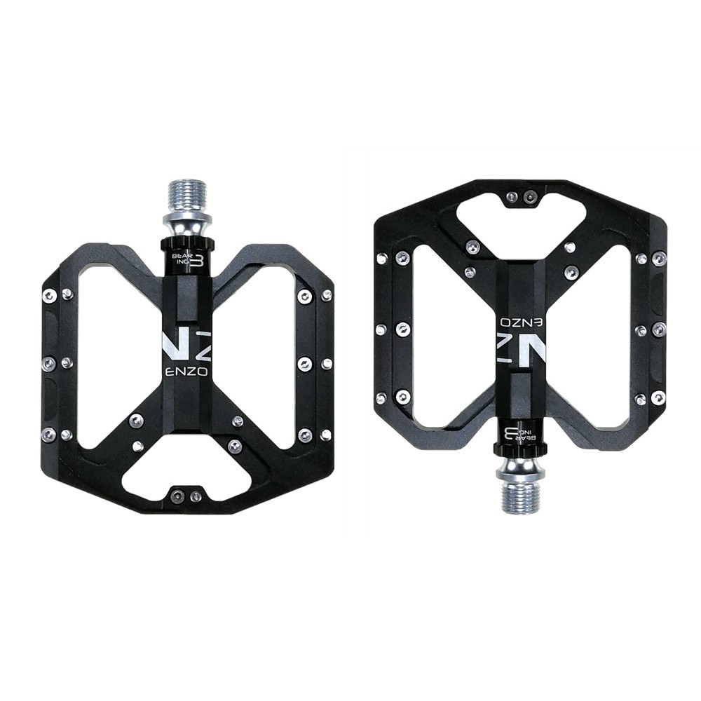 SHANMASHI BMX Bicycle Pedals Carbon Fiber MTB Road Bike 3 Sealed Bearings Pedals