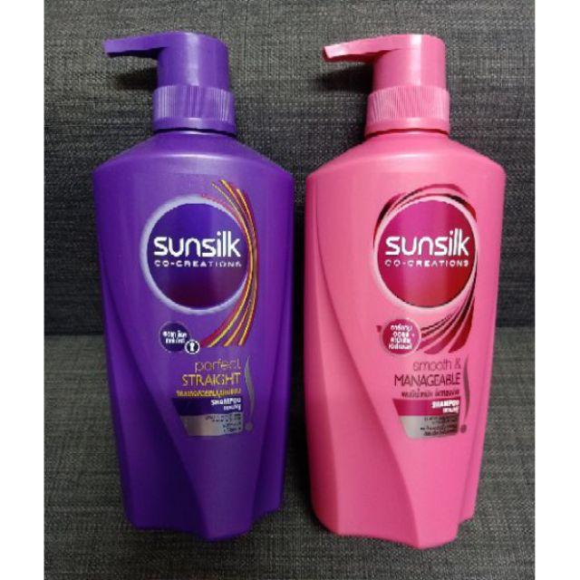 Authentic Sunsilk Shampoo 650ml Shopee Philippines