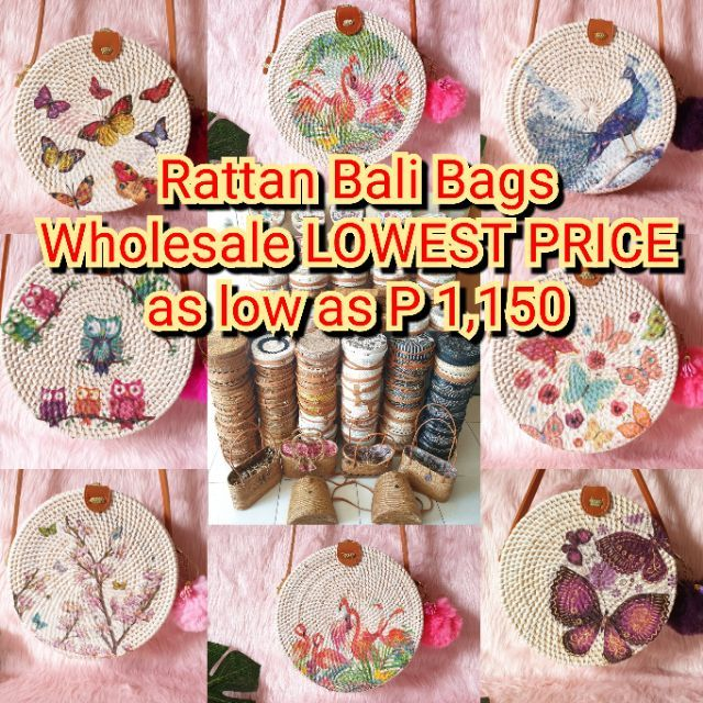 Rattan Bag From Bali Indonesia Shopee Philippines
