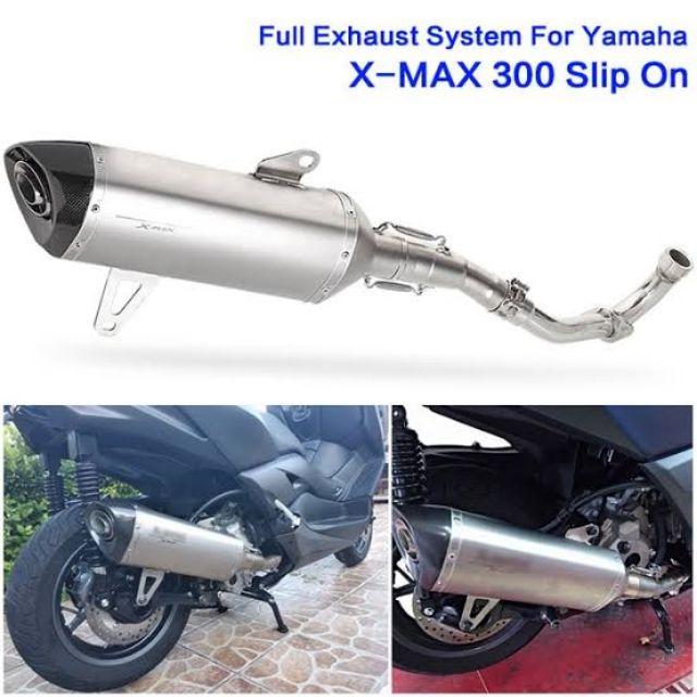 Akrapovic Titanium Full Sytem for Yamaha Xmax 300 | Shopee Philippines