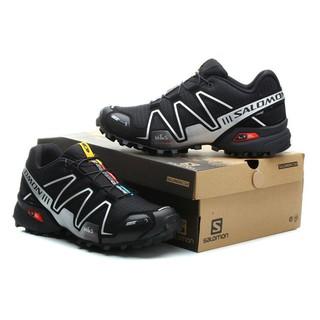 bas prix ab788 daefc Original Men Salomon Speed Cross 3 Running Shoe Black Silver ...