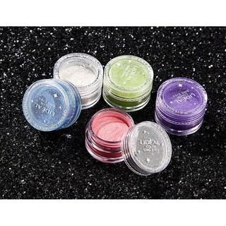 Blue Objective Glitter Shimmer Pearl Loose Eyeshadow Powder Bright White Gold Purple Black Makeup Tool Green
