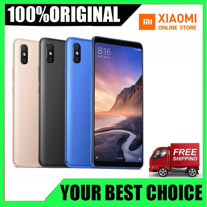 Wholesale Original Xiaomi Mi Max 3 6GB 128GB Mobile Phone