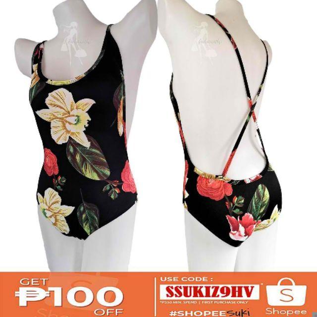 ec99c4bc092 Geometric Cherry Print Cloth Swimming Cap Swim Hat | Shopee Philippines