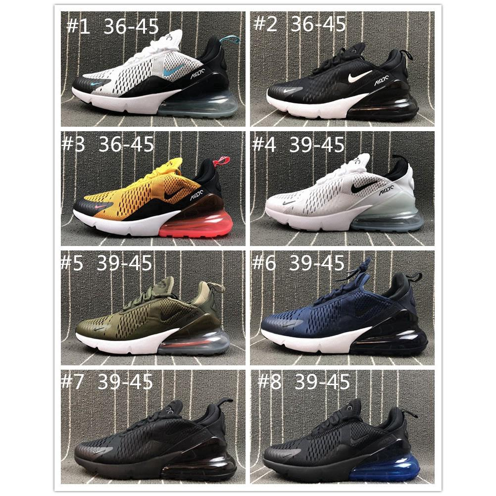 promo code 5ec67 5c8cc Nike Air Max 270 Flyknit Men Women Sport Sneaker Shoes