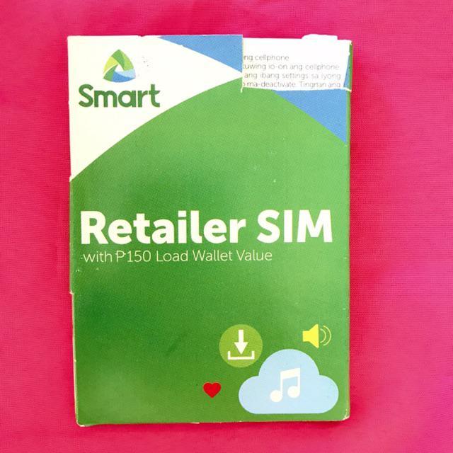 Smart Retailer Sim Brand New!!(Free 150 Load & Open Line