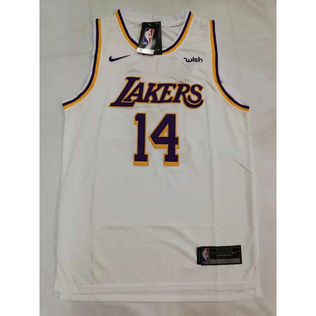 brand new 112af c8881 NBA Lakers 14 Brandon Ingram Swingman Jersey