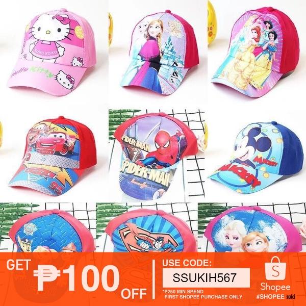 624d372c1 Flagship #Cute Cartoon Character Cap For Kids