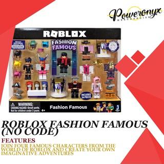Roblox Celebrity Fashion Famous Playset Totoku Roblox Celebrity Fashion Famous Toys Set Shopee Philippines