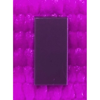 Lego 6 New Magenta Tiles 1 x 1 with Groove Flat Smooth Pieces