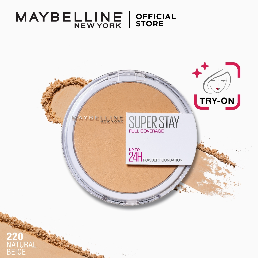 Maybelline Superstay 24hr Full Coverage Powder Foundation Shopee Philippines