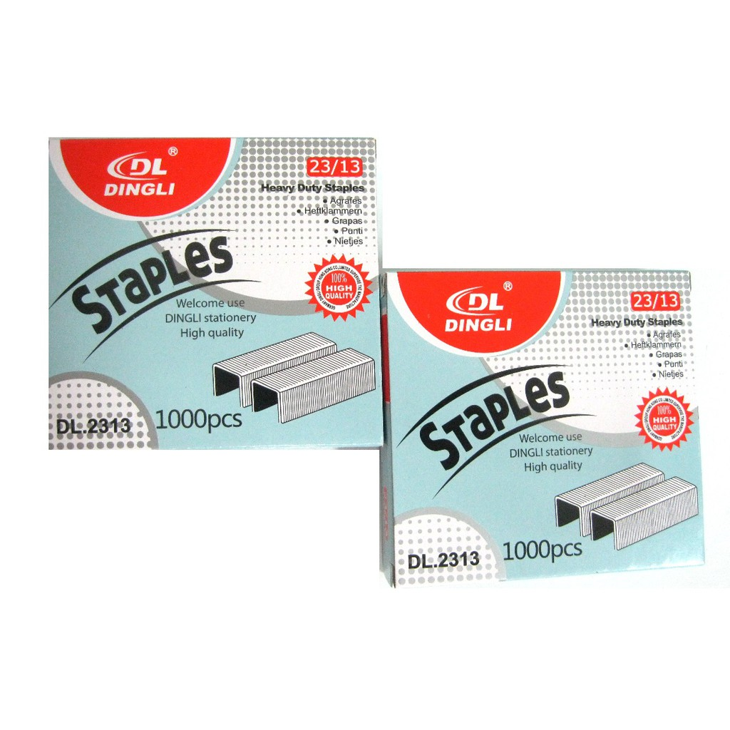 2 Boxes Heavy Duty Staple wire Strong wire Size 23/13 | Shopee ...