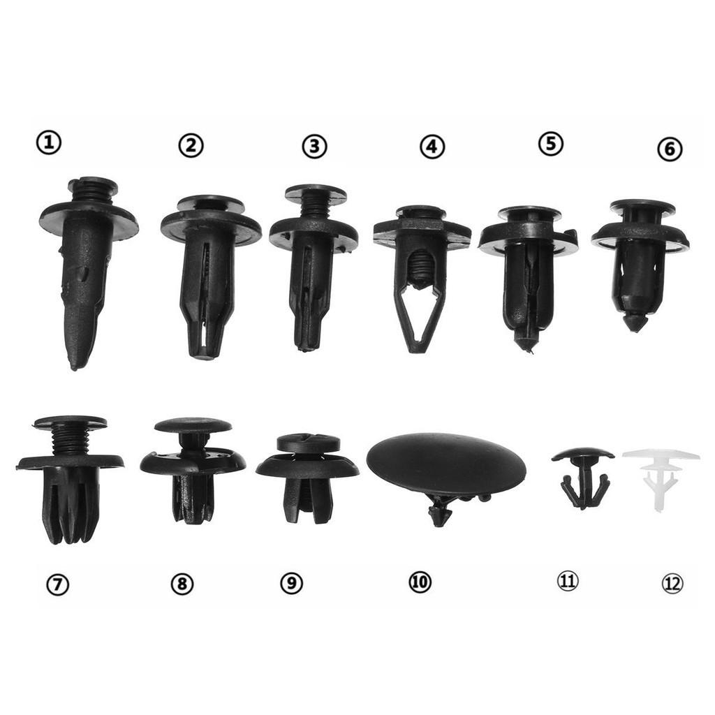 50 PCS Fits Honda accord bumper push type retainer clips 91502SM4000