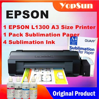 Epson L1300 A3 Size Ink Tank Printer With Sublimation Ink