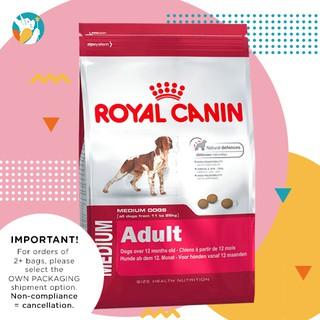 Royal Canin Medium Adult 15kg   Shopee