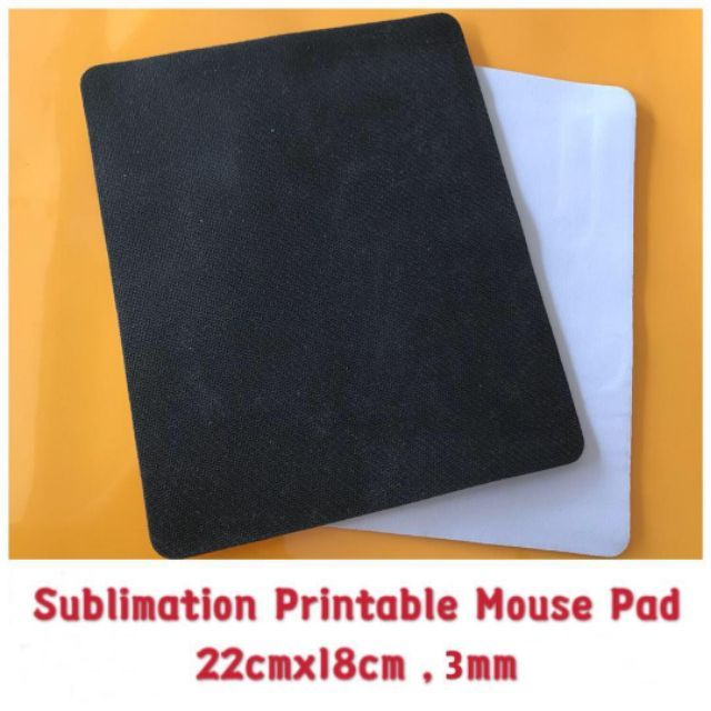 picture regarding Printable Mouse Pad titled MOUSE PAD For Sublimation Printable 22cmx18cm , 3mm